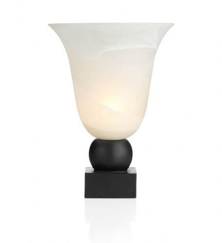 Plinth 1-light Black UplighterTable Lamp PLI4222 (Class 2 Double Insulated)